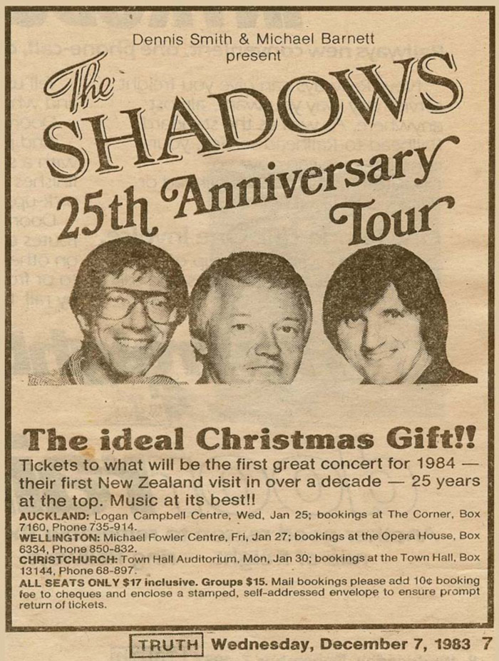 25 Anniversary Tour Newspaper Clipping