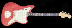 "Original Fender Jaguar in George Fullerton's ""Fullerton Red"" which was destined to become the legendary ""Fiesta Red"""