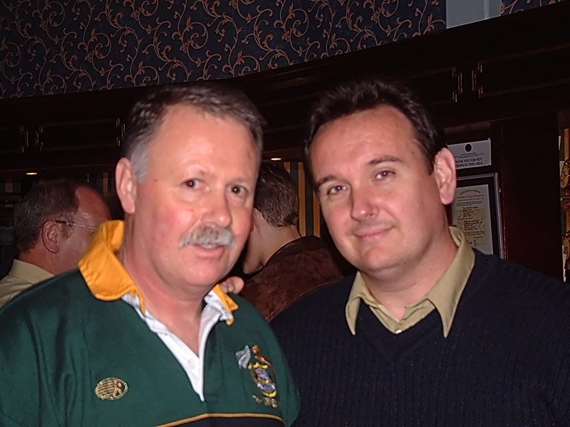 Johnno and Phil Kelly