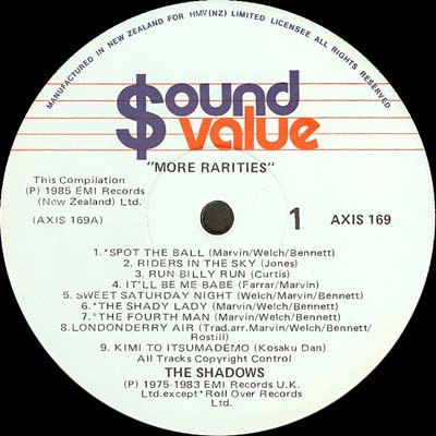 Sound Value AXIS 169 Side 1